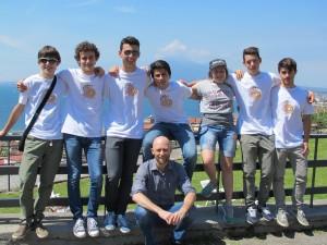 La squadra dell'Emilia Romagna alle Olimpiadi NAzionali